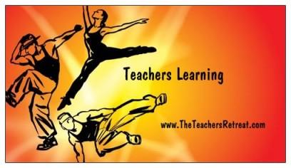 Teachers Learning Biz card Front