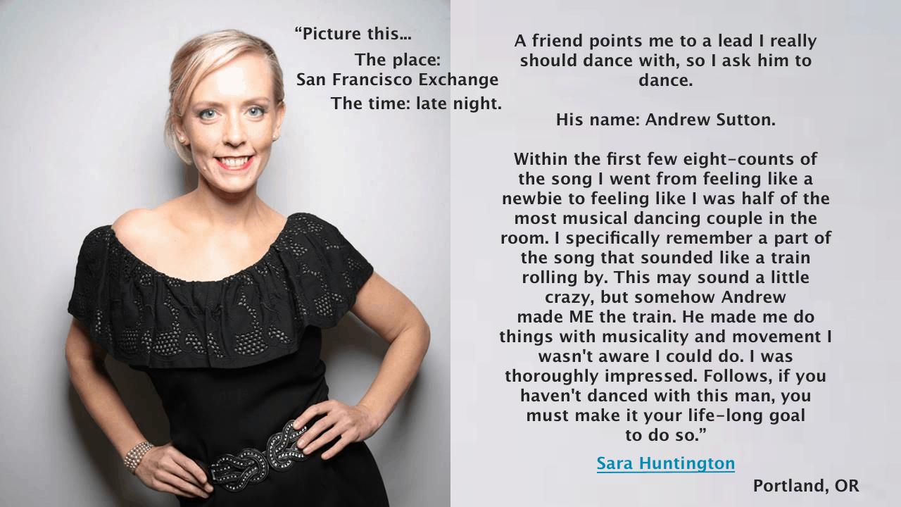 Sara Huntington Quote
