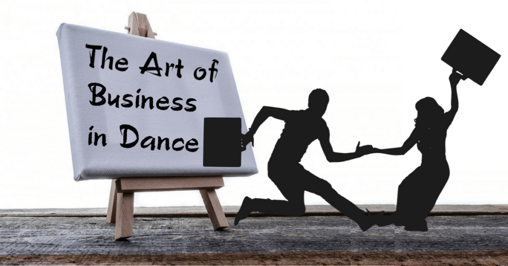 Art of Business in Dance with Laurentina Clip Art